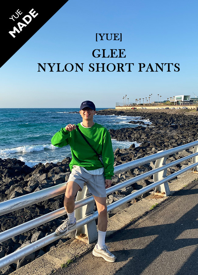 [YUE] Glee nylon short pants
